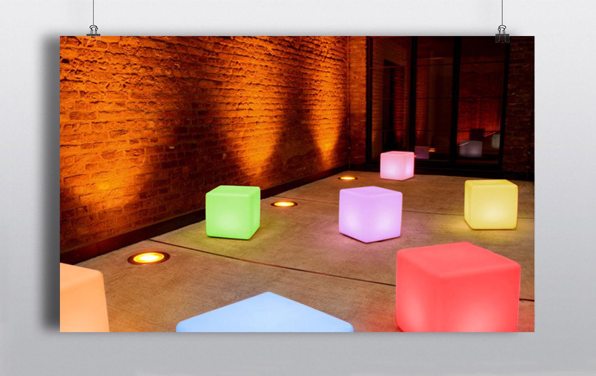 Led Cube Tables
