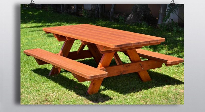 Picnic Bench Traditional Style